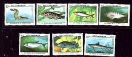 Nicaragua 1661-67 MNH 1987 Fish    (ap6385) - Nicaragua