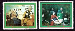 Nicaragua 1980A-1980B MNH 1993 Christmas    (ap6396) - Nicaragua