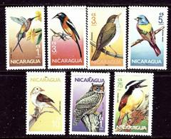 Nicaragua 1500-06 MNH 1986 Birds    (ap6398) - Nicaragua