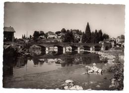 MONTREJEAU  --1960--Le Pont Sur La Garonne Et La Ville .............à Saisir - Montréjeau