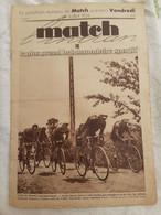 MATCH L'INTRAN TOUR DE FRANCE COL DE PORT SAURAT   24 JUILLET 1934 - Otros