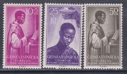 Guinée Espagnole N° 365 / 67 X Centenaire De La Préfecture De Fernando Poo Les 3 Vals Trace De Charnière Sinon TB - Guinée Espagnole