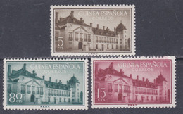 Guinée Espagnole N° 368 / 70 X Série Courante, Les 3 Valeurs Trace De Charnière Sinon TB - Guinée Espagnole