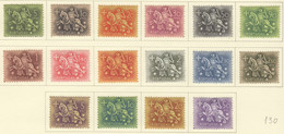 SP429 1953 PORTUGAL MOUNTED KNIGHT MICHEL #792-806 130 EURO FULL SET LH - Nuevos