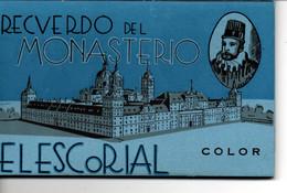 Leporello Spanien: Recverdo Del Monasterio - Elescorial, 10 Bilder In Farbe, 9,5 X 15 Cm, Um 1960 - Unclassified