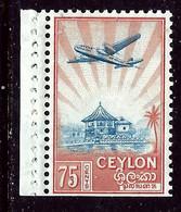 Ceylon 311 MNH 1950 Issue  From Booklet?    (ap6403) - Ceylon (...-1947)