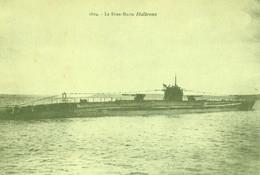 "Le Sous Marin Français "" HALBRONN "" Ex U 139 De La Marine Allemande - Onderzeeboten"