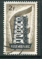 LUXEMBOURG- Y&T N°514- Oblitéré (Europa) - Usados