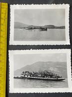 Militärschiffe Auf Einem See In Der Schweiz/ 2 Photos - War, Military