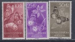 Guinée Espagnole N° 403 / 05 X , Journée Du Timbre,  Les 3 Valeurs Trace De Charnière Sinon TB - Guinée Espagnole