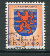 LUXEMBOURG- Y&T N°534- Oblitéré (armoirie) - Usados