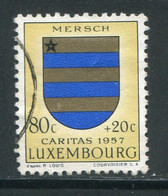 LUXEMBOURG- Y&T N°535- Oblitéré (armoirie) - Usados