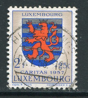 LUXEMBOURG- Y&T N°537- Oblitéré (armoirie) - Usados