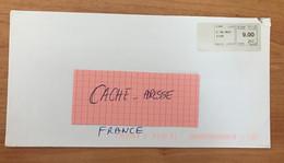COVER LETTRE LETTER FOR POUR LA FRANCE MAROC VIGNETTE AFFRANCHISSEMENT EUROPE INTERNATIONAL 2015 - Marocco (1956-...)