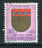LUXEMBOURG- Y&T N°570- Oblitéré (armoirie) - Usados