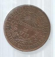 Médaille, EXPOSITION UNIVERSELLE,  CENTENAIRE DE 1789, Frais Fr 1.95 E - Other