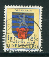 LUXEMBOURG- Y&T N°554- Oblitéré (armoirie) - Usados