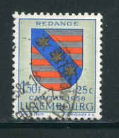 LUXEMBOURG- Y&T N°555- Oblitéré (armoirie) - Usados
