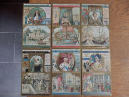 """(32)   Lot De 4 Chromos """" Princesses Célèbres"""" Liebig - Liebig"""