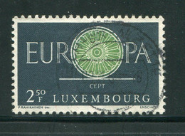 LUXEMBOURG- Y&T N°587- Oblitéré (Europa) - Usados