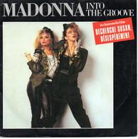 "MADONNA "" INTO THE GROOVE - SHOO-BEE-DOO"" DISQUE VINYL 45 TOURS - Disco, Pop"