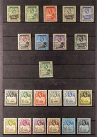 """1922-36 KGV COMPLETE MINT COLLECTION. A Complete """"Basic"""" Mint Collection Of KGV Issues, SG 1/34, With The 1922 Set Of 9, - Ascensión"""