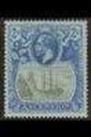 1924-33 2s Grey-black & Blue On Blue, SG 19, Very Fine Mint For More Images, Please Visit Http://www.sandafayre.com/item - Ascensión