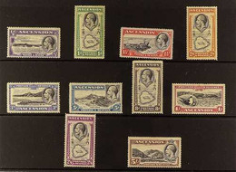 1934 Pictorial Set, SG 21/30, Mint With Brown Gum But Fine And Fresh Appearance (10 Stamps). For More Images, Please Vis - Ascensión