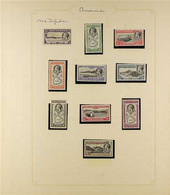 1934-1976 ALL DIFFERENT COLLECTION Mint And Used, Generally Fine And Fresh Condition, With 1934 KGV Pictorial Definitive - Ascensión