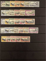 1938-53 The Complete Sets For Perf. 13½, 13 And 14, SG 38/47b, Fine Mint. (31 Stamps). For More Images, Please Visit Htt - Ascensión