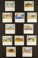 2002 IMPERF PROOFS Island Views Complete Set As SG 851/862,IMPERF PROOFS From The B.D.T. Printers Archive On CA (Sidewa - Ascensión
