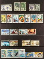 1957-1995 NEVER HINGED MINT COLLECTION On Stock Pages, All Different, Includes 1966-69 Defins Set, 1992-93 Wildlife Set  - Sin Clasificación