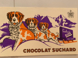 1 BUVARD CHOCOLAT SUCHARD - Cocoa & Chocolat