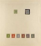 1883-1935 FINE MINT COLLECTION On Album Pages With 1883-84½d And 2½d, 1899 Set To 7d, 1904 Set Less 2s6d Value, 1922-28 - Britse Maagdeneilanden