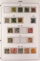 1849-1923 MINT & USED COLLECTION Mostly Used, Collection Full Of Highly Catalogued Stamps Neatly Presented On Pages, Som - Ohne Zuordnung
