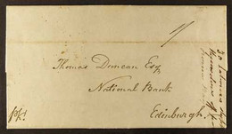 1841 (23 Sept) Packet Entire Letter Addressed To Edinburgh, With A Lengthy Message Requesting Advancing Money For Import - Grenade (...-1974)