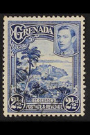 """1938 2½d Bright Blue, St Georges, Variety """"Perf 12½x13½"""", SG 157a, Fine Used. Scarce Stamp. RPS Cert. For More Images, P - Grenade (...-1974)"""