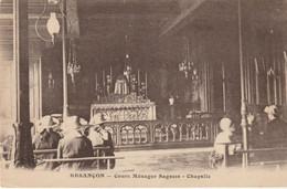 Besançon - Cours Ménager Sagesse - La Chapelle. Edition CLB. Non Circulée. Bon état. - Besancon