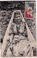 TUNISIE ! - 1912 - VIGNETTE CROIX-ROUGE SECOURS AUX BLESSES MILITAIRES Sur CARTE De LA GOULETTE => BESANCON - Croix Rouge
