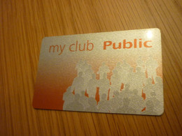 Public Store My Club Greek Member Card From Greece - Other