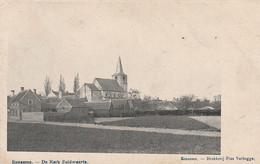 Oudenaarde Eenaeme Eename Ename  De Kerk Zuidwaarts Drukkerij Pius Verhegge Eenaeme - Oudenaarde