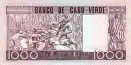 CAPE VERDE P. 56a 1000 E 1977 UNC - Cape Verde