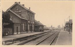 Oudenaarde Eenaeme Eename Ename - La Gare - Statie -  Uitg. E.Vander Stuyft Taverniers Eename - Oudenaarde