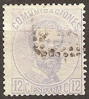 España U 0122 (o) Amadeo I. 1870 - Gebraucht
