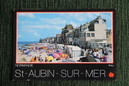SAINT AUBIN SUR MER - La Plage Et Le Front De Mer - Saint Aubin