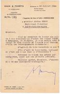 GIRONDE - BORDEAUX - EAUX Et FORËTS - Inspection Bordeaux-Nord - Documenti Storici