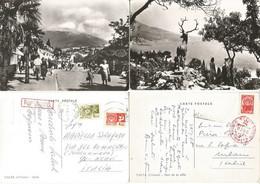 UKRAINA Lot # 11 Pcards Used USSR Era Including Yalta Odessa - Ucraina