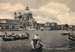 CPSM - P - ITALIE - VENETO - VENISE - VENEZIA - CHIESA DELLE SALUTE - GONDOLE - Venetië (Venice)