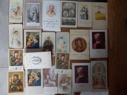 (32)     Lot De 21 Images Religieuses - Religione & Esoterismo