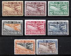 SIAM  1925  AIRMAIL  SET MH - Siam